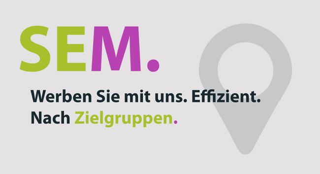 Suchmaschinen-Marketing / SEM im Raum Saarland, Rheinland-Pfalz und Baden-Württemberg